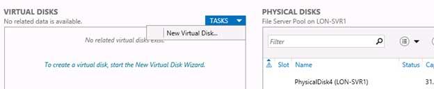 create a virtual disk