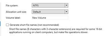 NTFS or ReFS