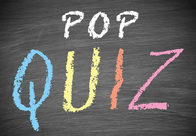 Pop Quiz -- Microsoft Certified Professional Magazine Online