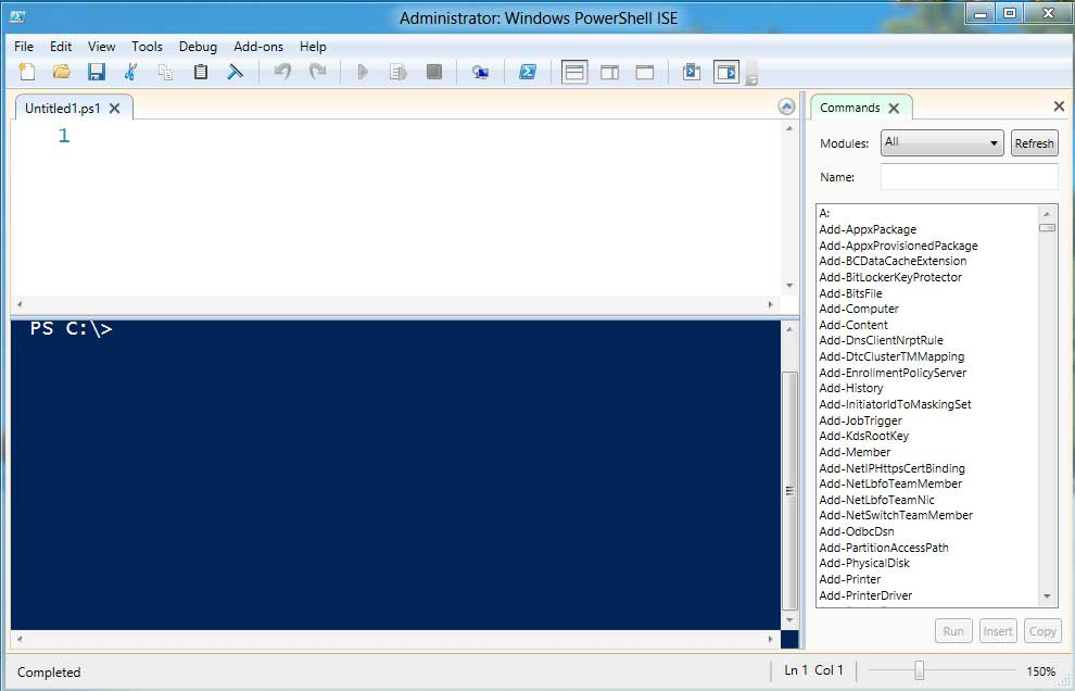 PowerShell 3.0 ISE
