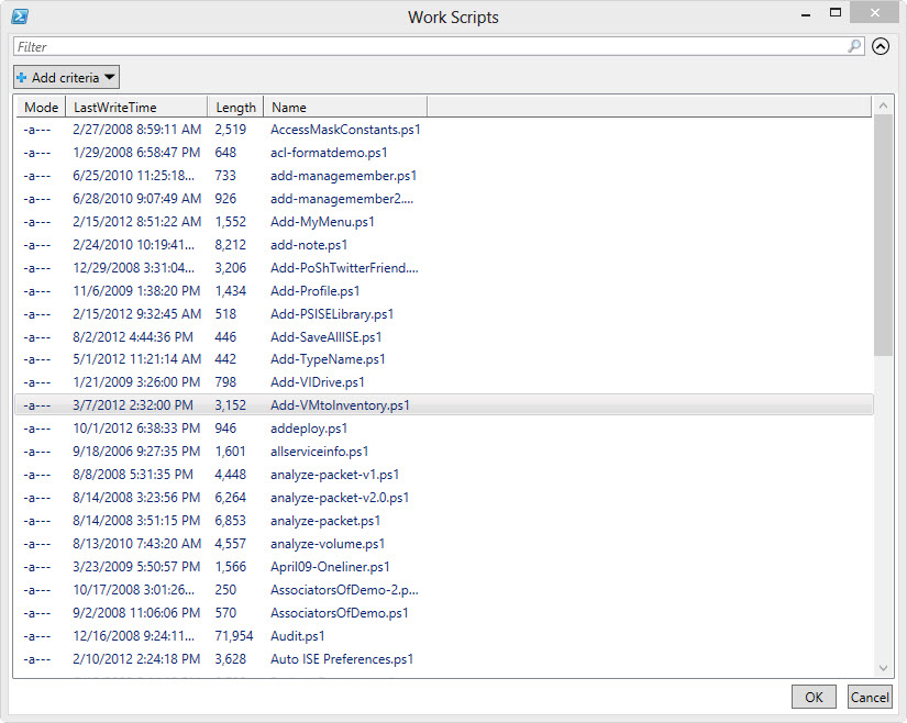 Fun with PowerShell's Out-GridView -- Microsoft Certified