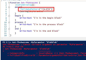 How To Validate Parameters in PowerShell -- Microsoft Certified