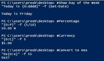 Taking Control of Strings in PowerShell -- Microsoft
