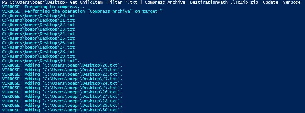 Zipping Items Using the PowerShell V5 Cmdlets -- Microsoft Certified
