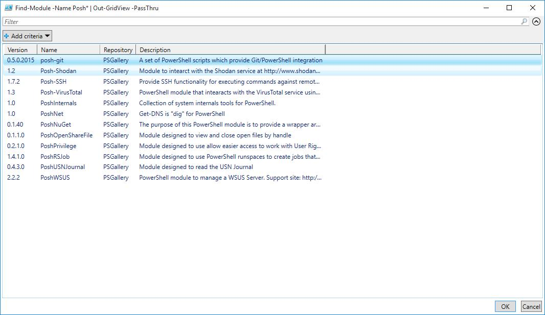 Exploring the PowerShell Gallery -- Microsoft Certified Professional