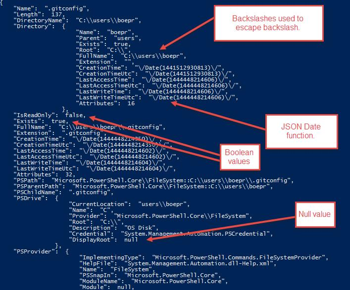 A Look at JSON and PowerShell -- Microsoft Certified Professional