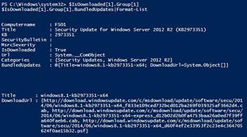 Finding Pending Updates Using PowerShell -- Microsoft