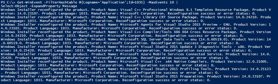 Gathering Installed Software Using PowerShell -- Microsoft Certified
