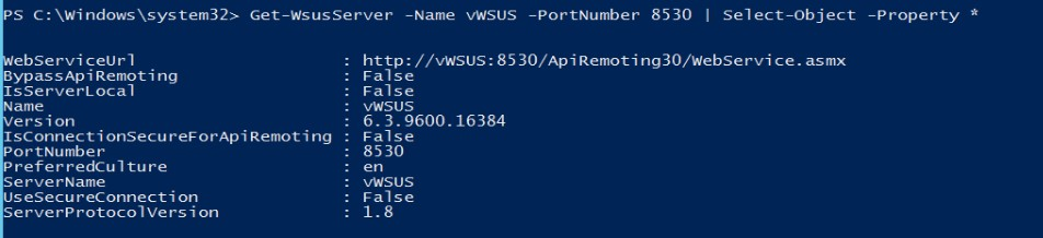 Automate WSUS Using the PowerShell UpdateServices Module