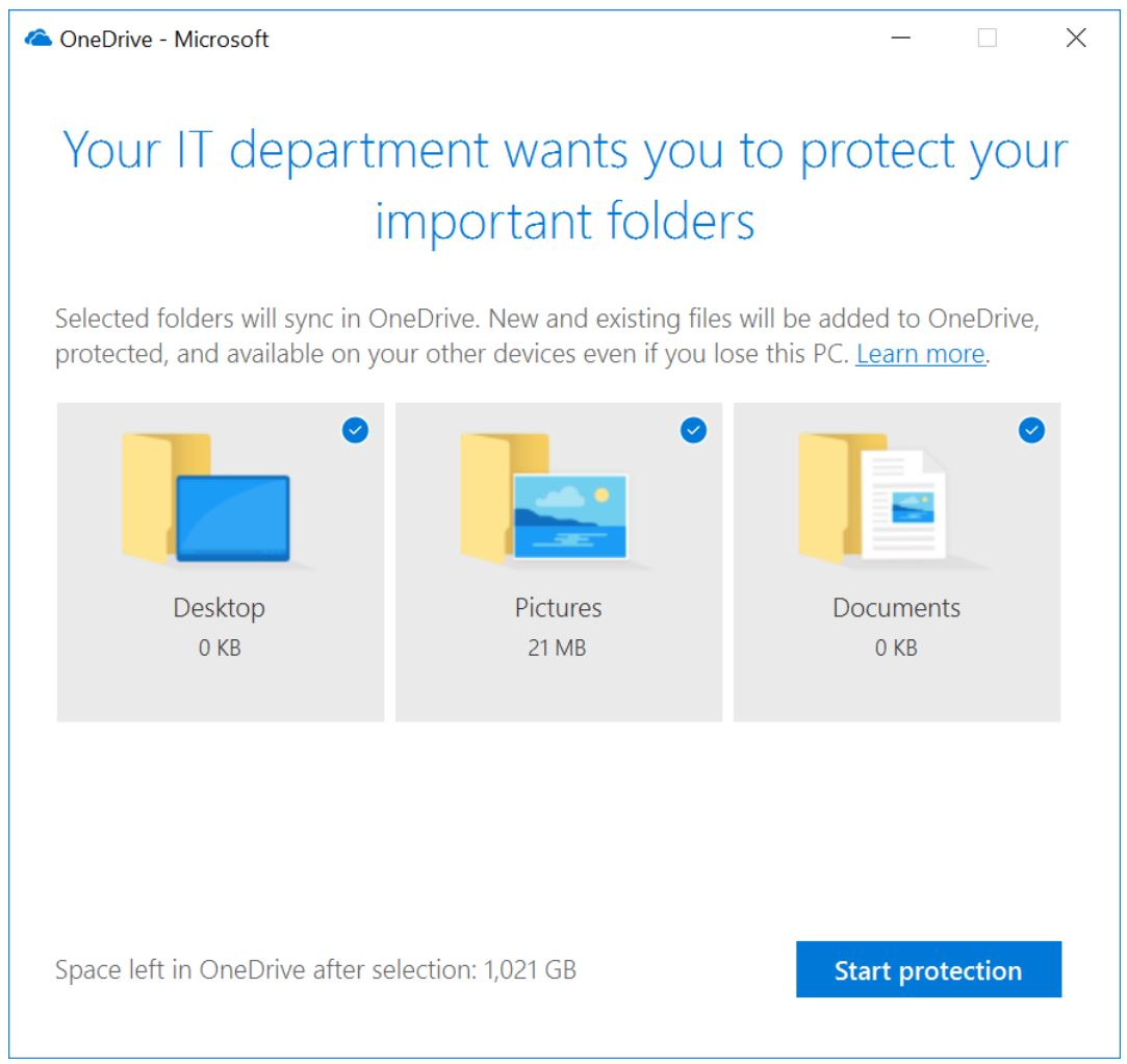 Microsoft Tests 'Known Folder Move' Feature in OneDrive
