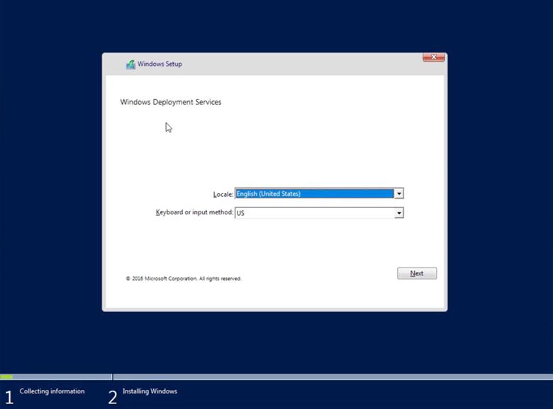 Configure Windows Deployment Services Using PowerShell